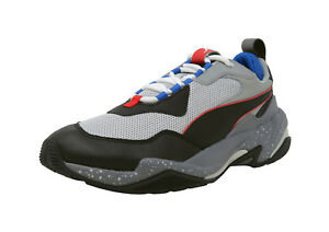 PUMA-Thunder-Electric-Gray-Black-Royal-White-Lace-Up-Sneakers-Fashion-Men-Shoes