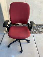 Fully Loaded Red Steelcase Leap V2 Office Chair Local Pickup In Az Only