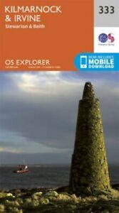 Kilmarnock-and-Irvine-by-Ordnance-Survey-9780319245859-Brand-New