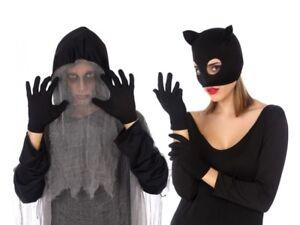 Gants Courts Noir Accessoire Déguisement Femme Halloween Catwoman Neuf Pas Cher N62cbwqy-07155925-461957445