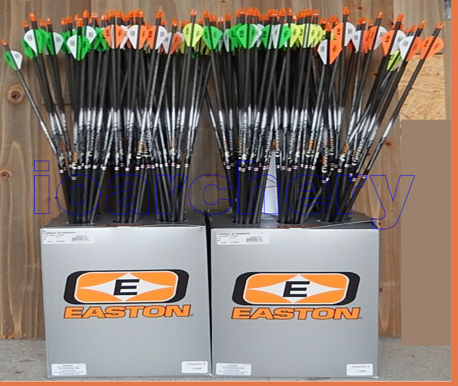 EASTON AFTER MATH ARROWS  SELECTION BELOW CUT FREE 2  VANES CUT FREE