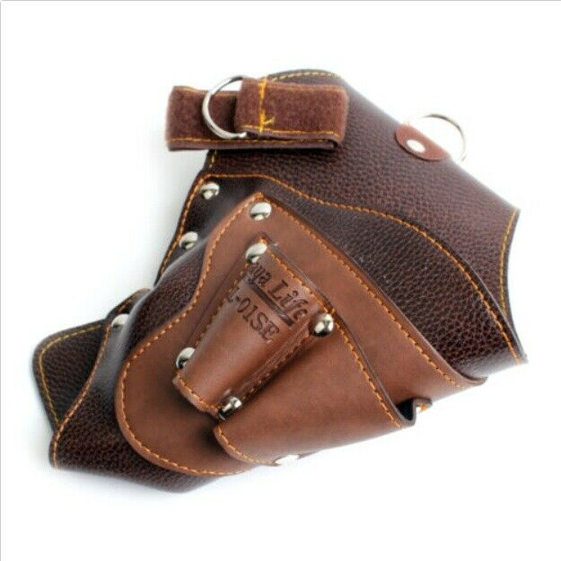 Drill Holster Tool Storage Belt Pouch Tool Bag KL-01SE Soft Leather Carpenter
