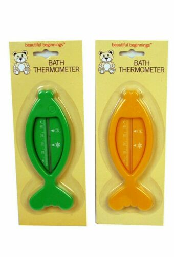 Baby Bath Thermometer-Flottant Poisson jaune vert blanc rose eau salubre