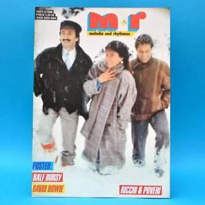 GDR-Melody-and-Rhythm-2-1988-Gianna-Nannini-David-Bowie-Ricchi-amp-Poveri-F