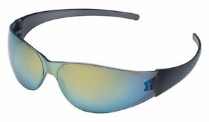 Crews-Checkmate-Safety-Glasses-with-Gold-Mirror-Lens-ANSI-Z87