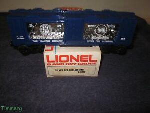 Details about  /Vintage Lionel Trains 6-9319 Silver TCA Bullion Mint Car 25th Blue 1979 USA