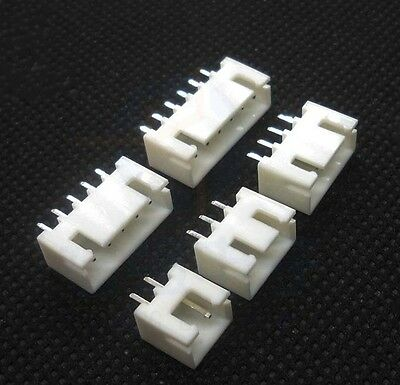 20pcs 50pcs 100pcs XH2.54 straight pin socket connector 2P 3P 4P 5P 6P 7P 8P 9P