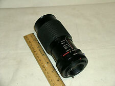 MC CPC Auto Zoom 1:4.5 to 32  Macro Lens w/ Canon Bayonet Style Mount 90 - 200mm