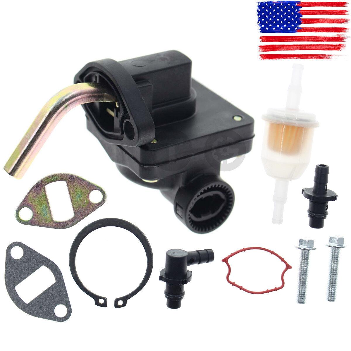 Zreneyfex Fuel Pump for Kohler CV13S CV14S CV15S CV16S CH11S CH12.5S CH13S CH15 CV430 CV460 CV490 CV491 CV491 CV492 CV493 Engine 11 12.5 13 14 15 HP John Deere L110 LT133 LT155 LX255 GT225