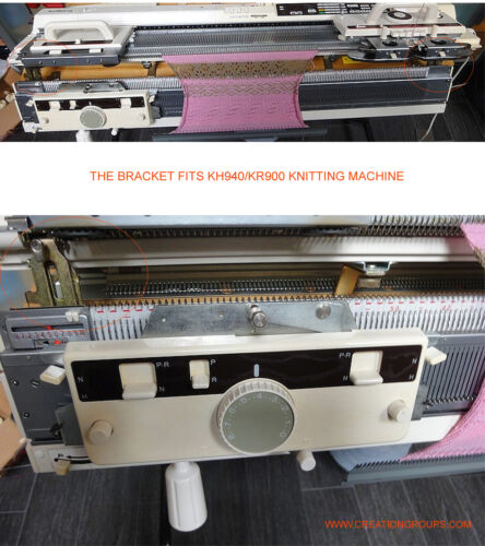Bracket Assembly Right for Brother KR850 KnitKing KR900 Ribber Knitting Machine