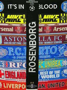 Image is loading 5-5-Rosenborg-Champions-League-football-scarf-soccer 6f6fb22c897