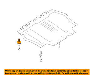 New Replacement Lower Engine Cover For Volkswagen Jetta OEM Quality