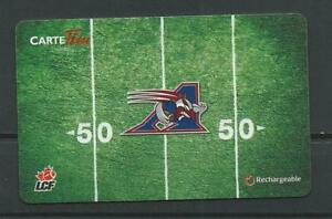 Reloadable-Tim-Horton-039-s-Gift-French-Card-CFL-Montreal-Alouettes