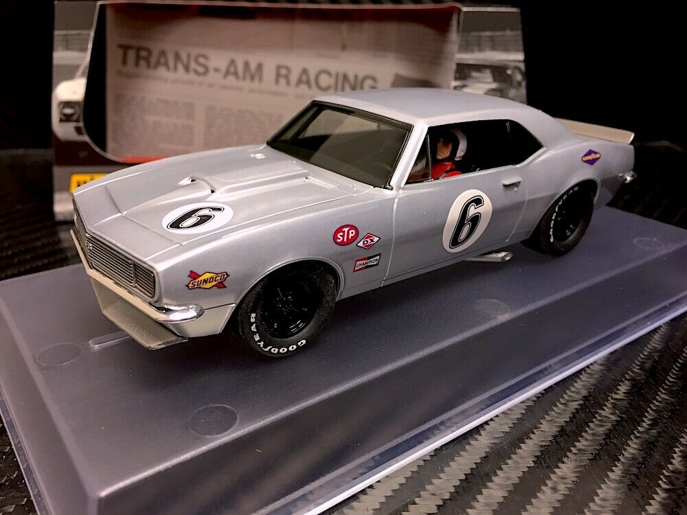 Pioneer  BARE METAL Racer  1967 Chevrolet Camaro SS  6 RMR 1 32 Slot Car P070