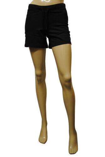 Womens ESPRIT Shorts Soft Cotton Black Size 8 to 18 Ladies A8.3