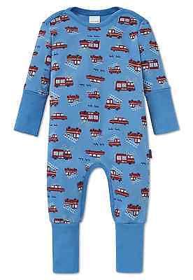 SCHIESSER Baby Anzug Strampler 100/% CO Gr 68 74 80 86 92 Schlafanzug NEU