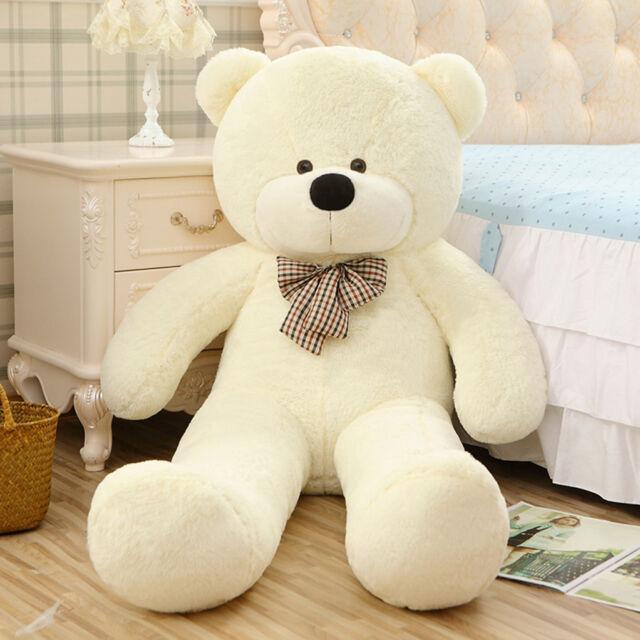 d8f45b1ae6eb Giant Teddy Bear Big Stuffed Plush Animal Toy Huge 63