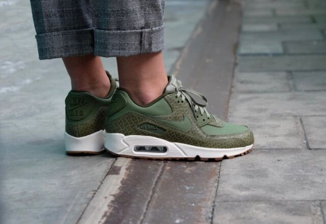 e5177839d2 Frequently bought together. Nike Air Max 90 Premium Palm Green/Sail ...