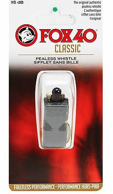 Sports Black 9902-0000 new Fox40 Classic Whistle Outdoors Safety