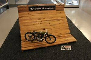 VWW-Diorama-1-6-Board-Track-Racing-circuit-034-Milwaukee-Motordrome-034