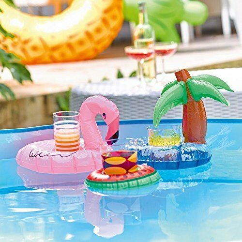 Talking Tables Allsorts Mini Inflatable Swimming Pool Party Drinks Holders