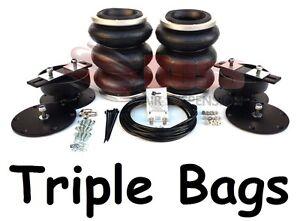 LA14T-BOSS-Triple-Air-bag-Load-Assist-for-Nissan-Navara-STX-550-D40-STX550