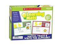 Scholastic Res. Gr K-2 Match/write Alphabet Mats on sale