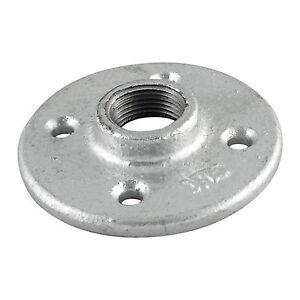 1-1-4-034-GALVANIZED-MALLEABLE-IRON-FLOOR-FLANGE-fitting-pipe-npt