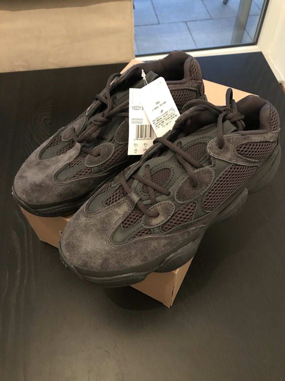 Adidas Yeezy Desert Rat 500 Black F36640