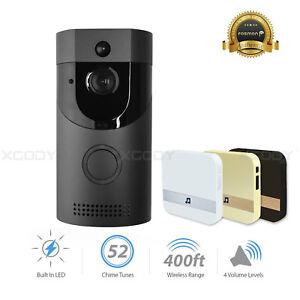 Wireless-WiFi-DoorBell-Smart-Video-Phone-Visual-Intercom-Secure-Camera-Door-Bell