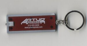 Trucking ARTUR EXPRESS Red LED Flashlight Keychain Key Chain