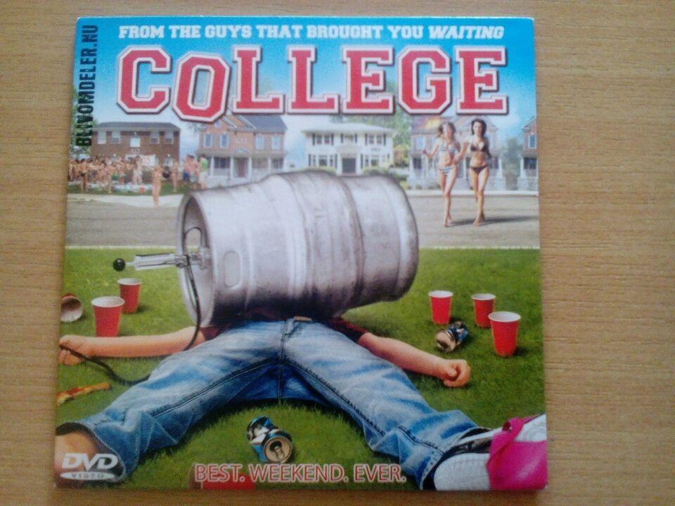College, DVD, komedie