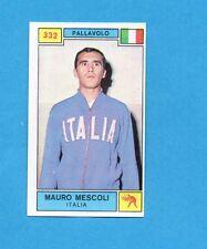 CAMPIONI SPORT 1969-70-PANINI-Figurina n.332- MESCOLI -ITALIA-PALLAVOLO-Rec