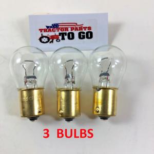 2 EX Brite LED light bulbs Kubota L175 L185 L2050 L225 KH-1 headlight 12v 35//35w