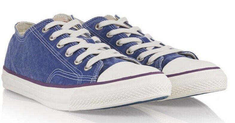 SUPERDRY Men's TROPHY SERIES Low Top Trainers Sneaker, Runner bluee,