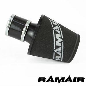 RAMAIR-Schwarz-Aluminium-Induktionsluftfilter-Universal-Mit-80Mm-Id-Kupplung