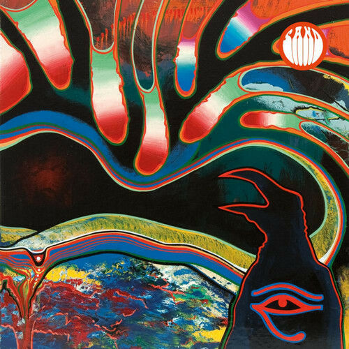 Sand - North Atlantic Raven (Orange and White Vinyl) [New Vinyl]