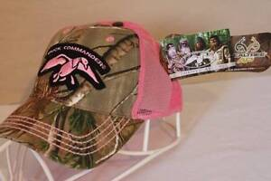 ebe14fabb73ba5 Image is loading NEW-Womens-Duck-Commander-Baseball-Cap-Camouflage-RealTree-