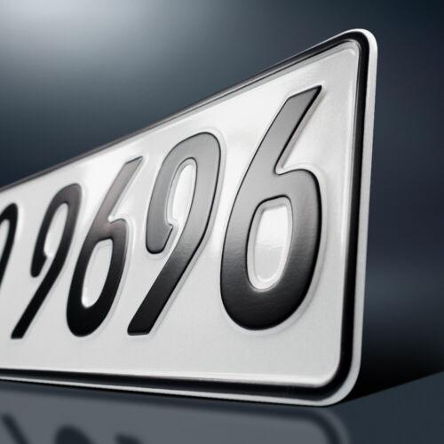2 Kfz Kennzeichen480 x 110 mmNummerschildAutoschildDHL-Versand