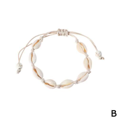 Bohemian Natural Cowrie Beads Shell Anklet Bracelet Foot Beach Handmade Jew N9C5