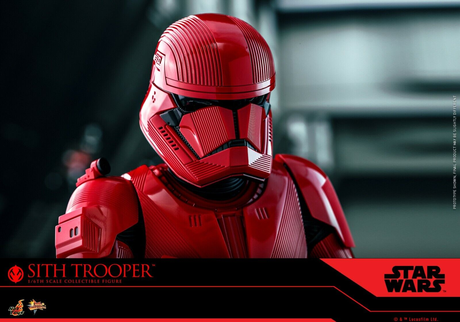 Hot Toys Star Wars transmito ordens Guard Hb Saia Inferior Vermelha Escala 1//6th Capa Solta