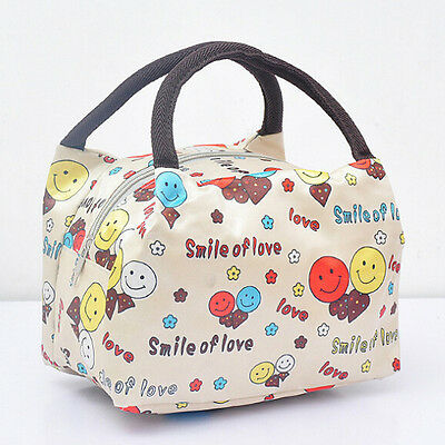 Multicolor Travel Outdoor Waterproof Lunch Bag Tote Box Container small bag New