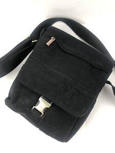 346e0652fe5b26 Image is loading Tumi-Voyageur-Capri-Crossbody-Shoulder-Bag-Black-Excellent-