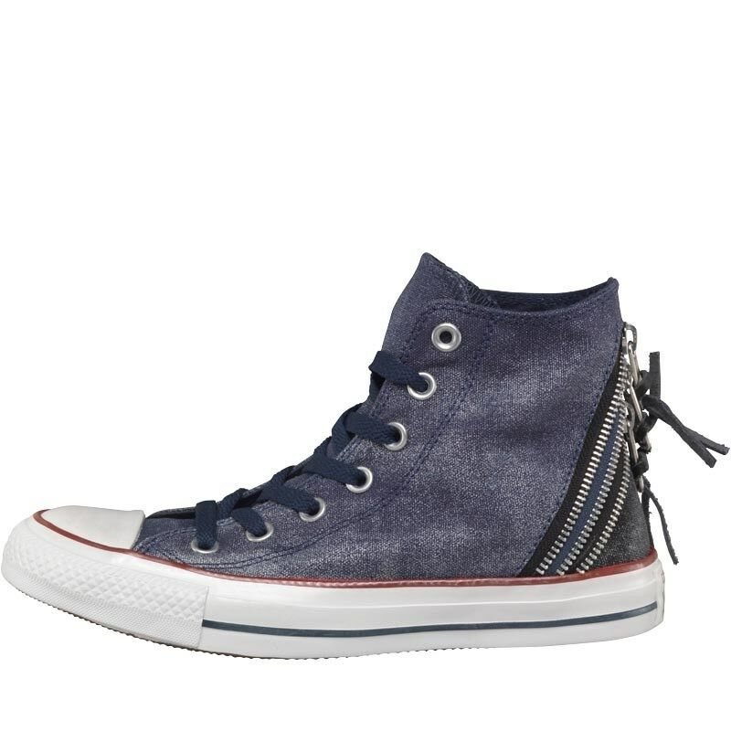 Converse Womens CT Hi, All Star Triple Zip Hi, CT Navy, UK 4 EU 36.5, BNIB 5539fc