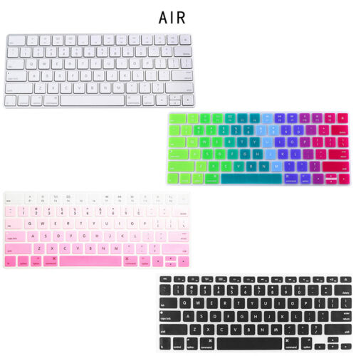 """Silicone Keyboard Protector Cover Keypad Skin Film For Pro//Air 13/"""" 15/"""" Macbook"""