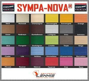 SYMPA-NOVA-Premium-30-Farben-65-cm-breit-Friedola-Polsterung-Weichschaum