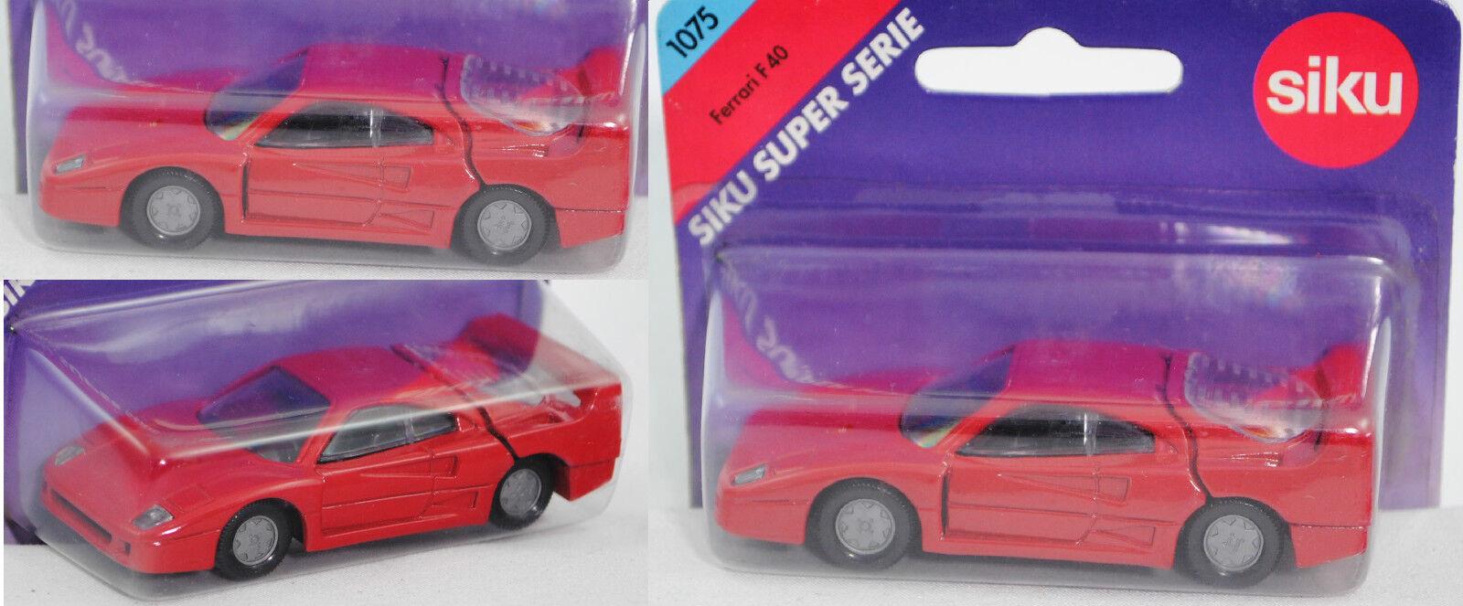 Siku Super 1075 ferrari f40, f40, f40, aprox. 1 56 8e238e