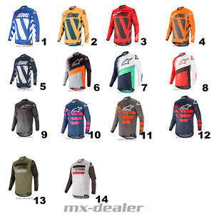 2019-Alpinestars-Maglia-di-Racer-Braap-Supermatic-Mx-Motocross-Cross-Shirt-MTB
