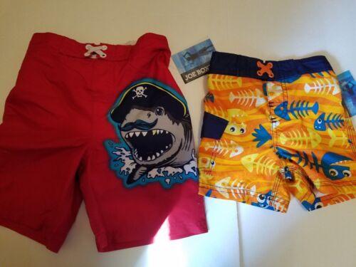 Joe Boxer Infant Toddler Boys Board Short Swim Trunks Size 12M 5T NWT