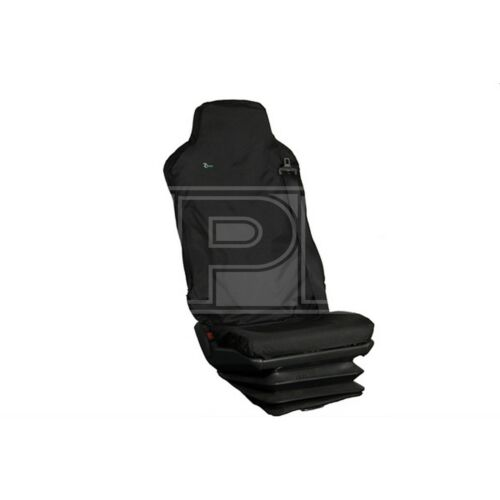 Black Driver Seat MAN Iveco /& Mercedes Town /& Country Truck Seat Cover